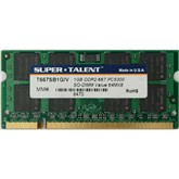 Super Talent 1GB DDR2-667 PC5300 200-pin SODIM