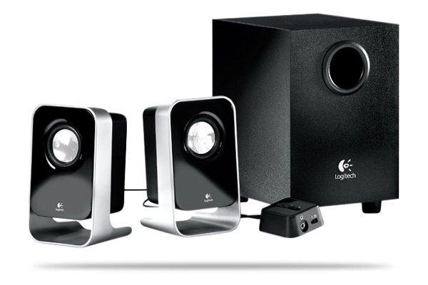 Logitec LS21 Speakers and Subwoofer set 3 pieces retail
