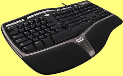Microsoft Natural Ergonomic Keyboard 4000 USB Black