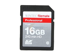 Wintec Micro SDHC 16GB Class 10 flash card